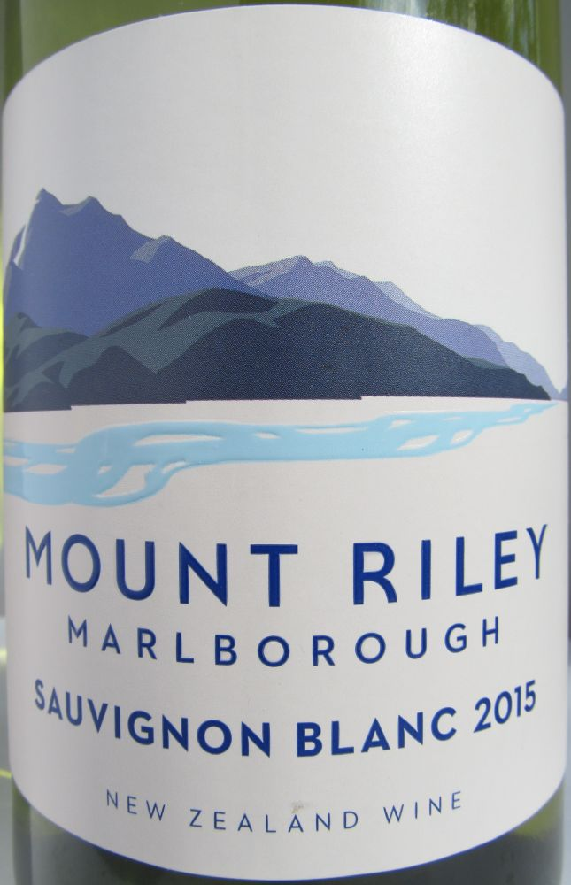 Mount Riley Wines Limited Sauvignon Blanc 2015, Main, #3096