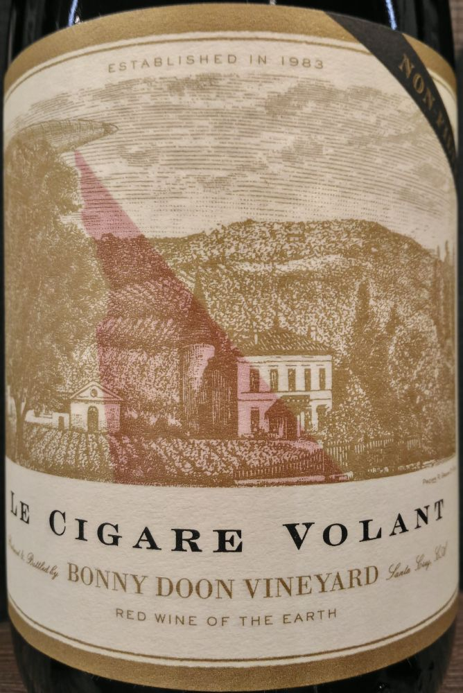 Bonny Doon Vineyard Le Cigare Volant AVA Central Coast 2010, Main, #6327