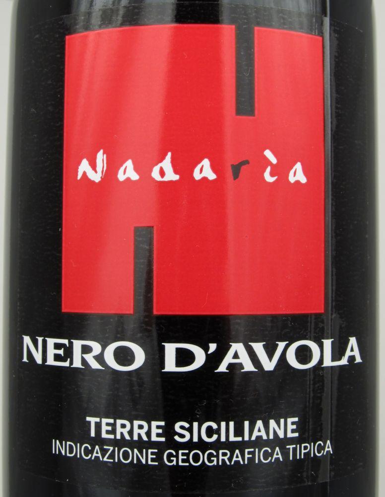 Cusumano S R L Societa Agricola Nadaria Nero D Avola Terre Siciliane Igt 2012 Detailed Information